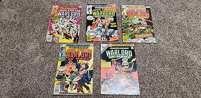 John Carter Warlord Of Mars Comic Lot of 5 from 1970s #2, #3, #4, #5, #1 Annual