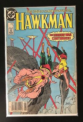 Hawkman #1 (Aug 1986, DC) DC Comics Justice League