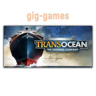 TransOcean: The Shipping Company PC spiel Steam Download Link DE/EU/USA Key Code