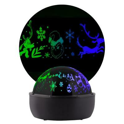 Christmas Lightshow Projection Tabletop Shadow Lights Grinch Color Changing