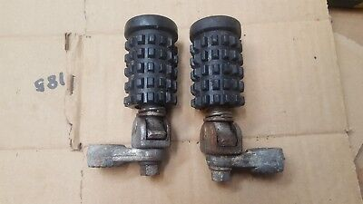 1970 1971 1972 Kawasaki F5 F6 F7 F8 front driver footpegs foot pegs rests mounts