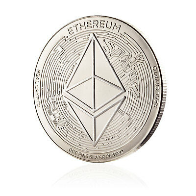 ETHEREUM Limited Edition Cold Storage Commemorative Coin
