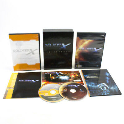 Söldner-X: Himmelsstürmer (Limited Edition) for PC CD-ROM, 2007, CIB, VGC