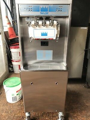 Taylor Ice Cream Machine Soft Serve 3 Flavor Machine Model Number 791-33