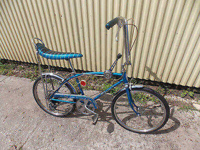 Vtg Schwinn Sting Ray Fastback 5-Speed (Blue) Muscle Bike (Chgo- Milw. Area)