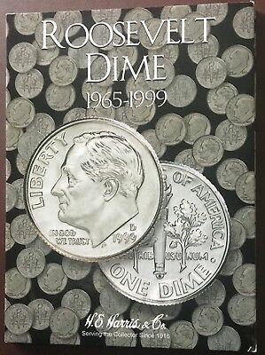 Roosevelt Dimes 1965-1999 Collection 68 Coins