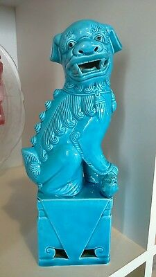 antique Chinese porcelain foo Dog