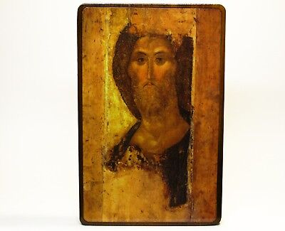 Orthodox Russian icon Jesus, Jesus Christ, Christ the Redeemer Andrei Rublev