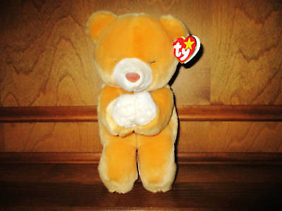 Ty 1999 Hope The Beanie Baby Bear, The Beanie Buddies Collection, Praying Bear