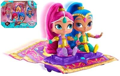 Shimmer & Shine Magic Flying Carpet Playset - Fisher-Price Kids Dolls Toys