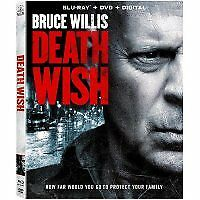 Death wish bluray only or dvd 2018 you choose (read description)