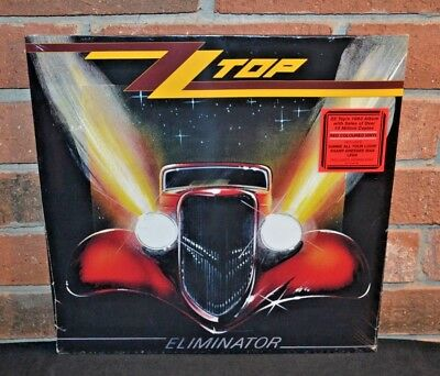 ZZ TOP - Eliminator, Limited RED COLORED VINYL LP New & Sealed!