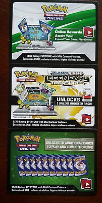 50X Pokemon TCG Booster Online Codes New sent by ebay mail Latest Sets Available