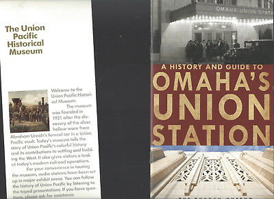 Up Uprr Union Pacific In Omaha Shop Station Musuem Brochures