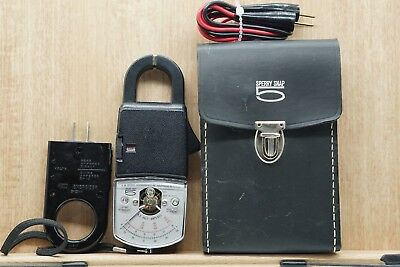 Sperry Snap 5 Snap On Volt Ammeter Meter Model SR150 w/ case and leads energizer