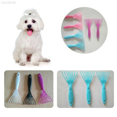 1766 Pet Grooming Brush Comb Rake Clean Cleaning Cleaner Houme House Random Colo