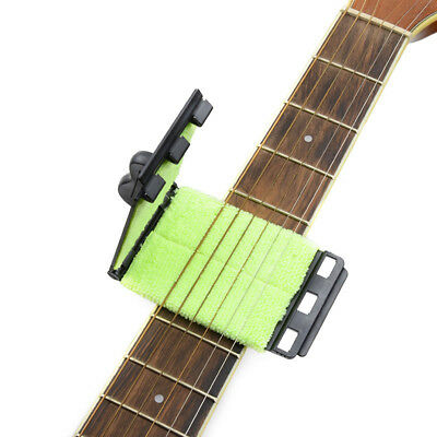 Electric Guitar Bass Strings Scrubber Fingerboard Rub Cleaning Tool Cleaner