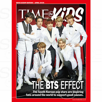 BTS TIME Weekly Asian Edition Coverman October 2018 _provide Folded poster(A3)