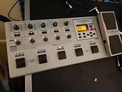 Korg AX1000g Toneworks Guitar Multi Effects Pedal & Power Supply by Vox