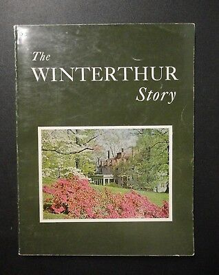 The Winterthur Story 1965 Book Henry Dupont Estate Americana Museum in Delaware