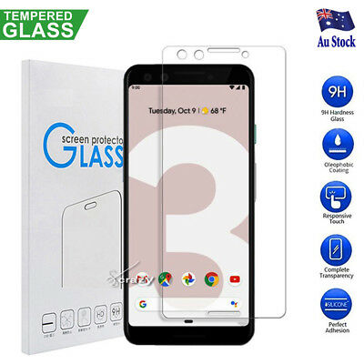 2X Google Pixel 3 3XL 3 XL 3A 3A XL Tempered Glass Screen Protector Film Guard