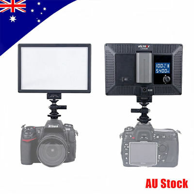 Viltrox L-132B 5400K LED Video Light LCD Dimmable for DSLR Camera and Camcorder