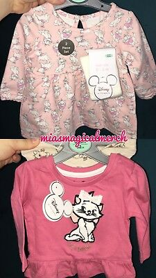 Brand New Baby Girl's Primark Disney MARIE Clothing Dress Or 2 Piece Outfit