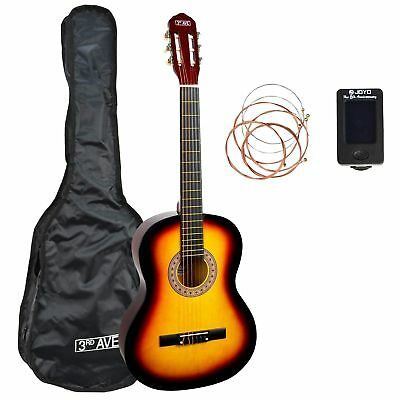 3rd Avenue 3/4 Size Classical Guitar Starter Pack - Sunburst