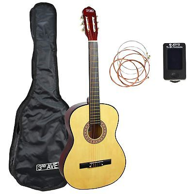 3rd Avenue Classical Guitar Starter Pack - Natural Full Size