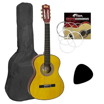 Childrens Classical Guitar Kids Pack 1/4 Size by Mad About With Gig Bag