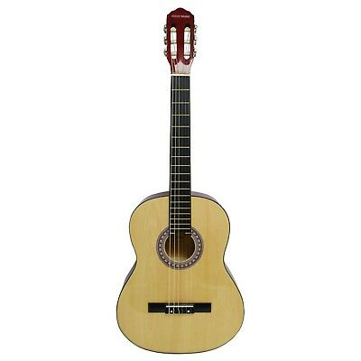 Rocket Full Size Classical Spanish Guitar - Natural 4/4 Guitar only