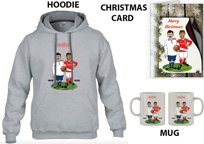 Heritage Football Gift Pack Hoodie,Mug & Card Pick Your Own Kits For Characters