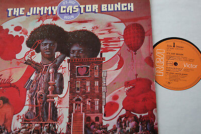 The Jimmy Castor Bunch -  Its Just Begun - LP