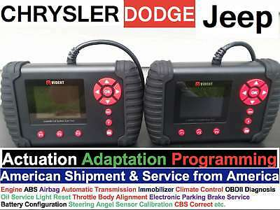 Dodge-Jeep-Chrysler Diagnostic Scanner Full System OE-Level Vident Key Scan Tool
