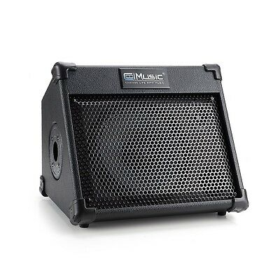 BP25 Portable Powered Battery Amplifier with Bluetooth, Acoustic Guitar