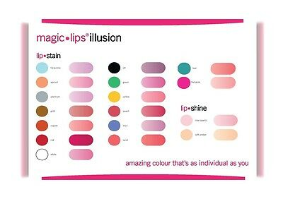 Ultraglow Magic Lips Lipstain All Colours