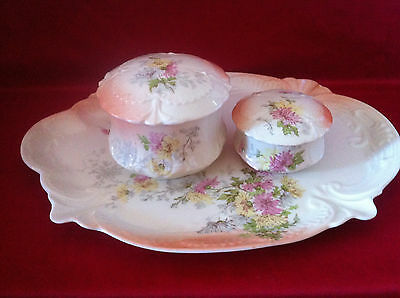 19th century: antique porcelain set Limoges France D&Co – perfect condition