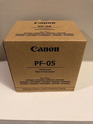 Canon PF-05 PrintHead imagePROGRAF printers.  New In box!! Free Shipping In U.S.