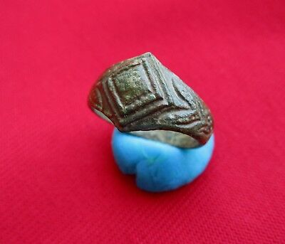 Amazing East Roman Empire Ancient Bronze Ring