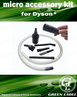 Micro Vacuum Accessory Kit for Dyson Vacuum Cleaners. By Green Label
