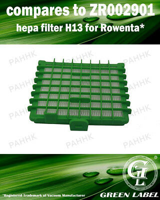 Filter for Rowenta Silence Force Vacuum Cleaners (OEM# ZR002901). By Green Label