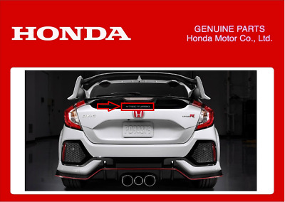 Genuine Honda Vtec Turbo  Decal Sticker Civic Type R Fk8 Hatchback Sedan 2017+