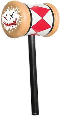 Harley Quinn Good Night Suicide Squad Hammer Mallet Fancy Dress Accessory Weapon