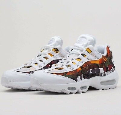 91ae18cca5 Nike Air Max 95 ERDL Party White Camo Multi AR4473-100 Mens Airmax Shoes NIB