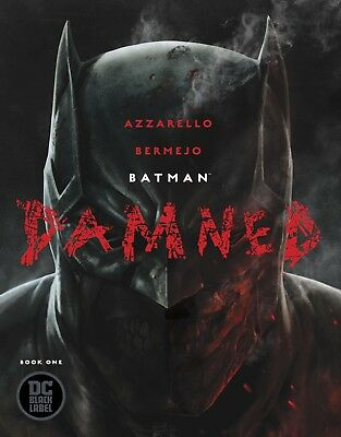 Batman Damned #1 Set, Bermejo & Lee Covers, Uncensored 1st Print