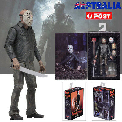 """Friday The 13th Part 5 Jason Voorhees 7"""" Scale Ultimate Action Figure Toy NECA"""