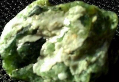 Imperial Green Jade . Rough Stone. Natural . No Any Treatment .Translucent. USA
