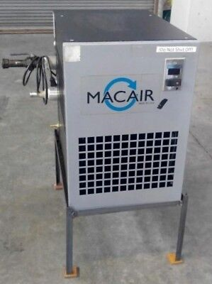Mac Air Hx100 Refrigerated Air Dryer Rated 100 Cfm 115 Volt Single Phase
