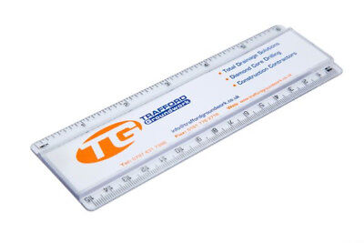 100 units Transparent acrylic ruler components REG-15