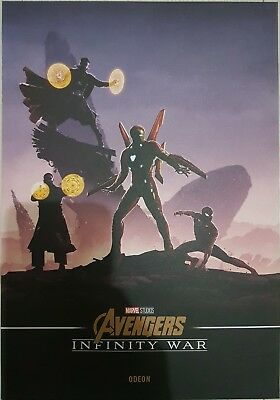 Avengers Infinity War Limited Edition Poster, Odeon Exclusive, NEW